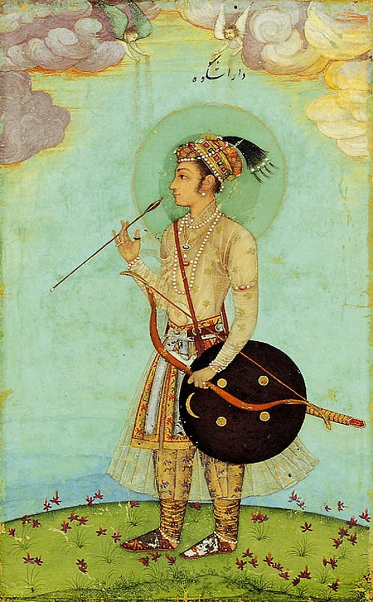 Dara Shikoh as a boy cropped by Unbekannt Unbekannt