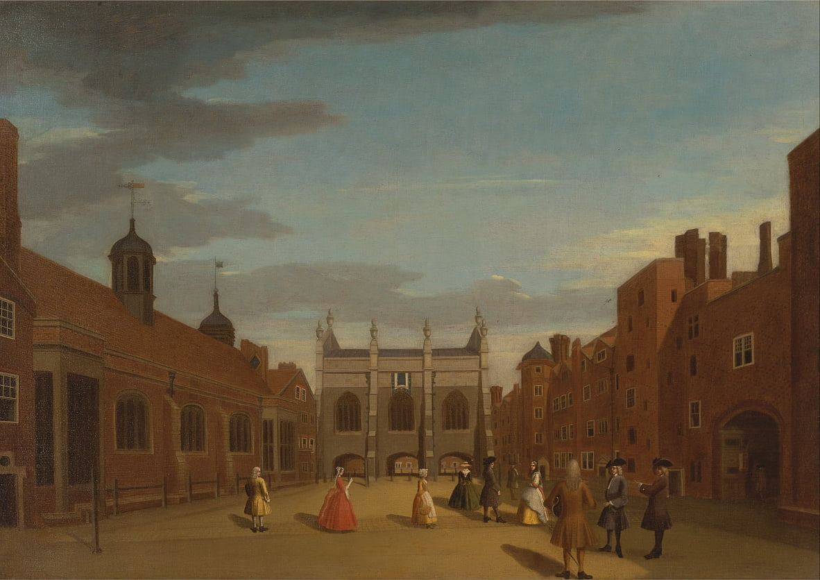 Lincolns Inn, the Chapel, and Old Hall, London by Unbekannt Unbekannt