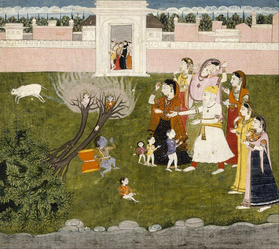Unknown Indian - Untitled (Story of Krishna) by Unbekannt Unbekannt