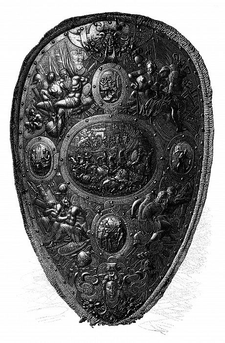 The Cellini Shield, 1882 by Unbekannt