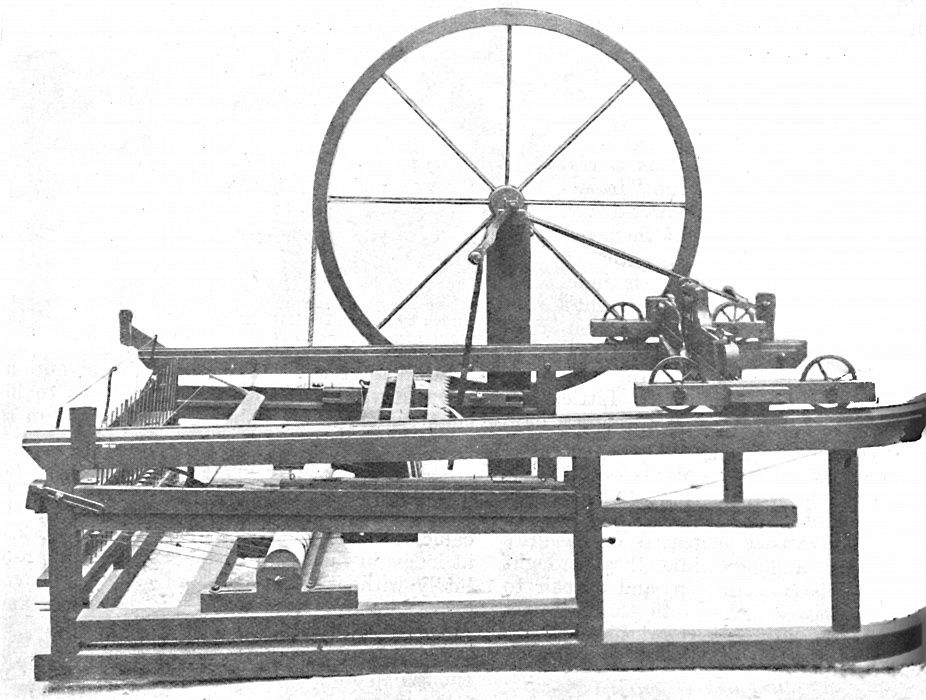 The Ingenious Spinning Jenny Invented by James Hargreaves,  c1925 by Unbekannt