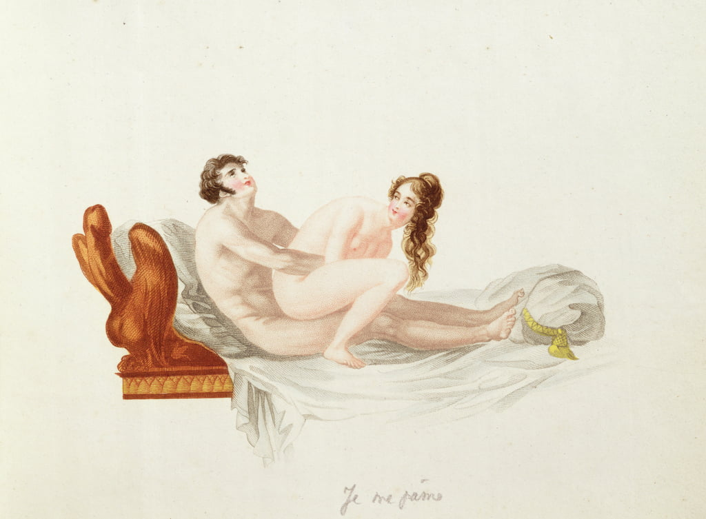 Illustration from Les Extases de l