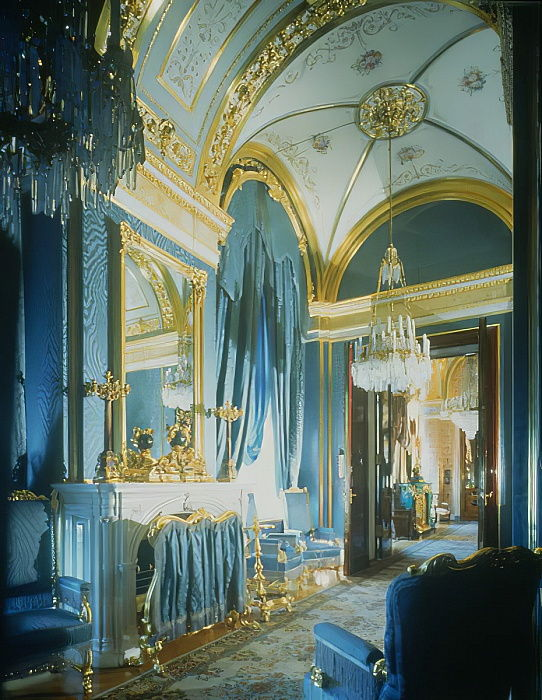The Tsars Bedroom in the Private Apartments of the Great Kremlin Palace  by Unbekannt Unbekannt