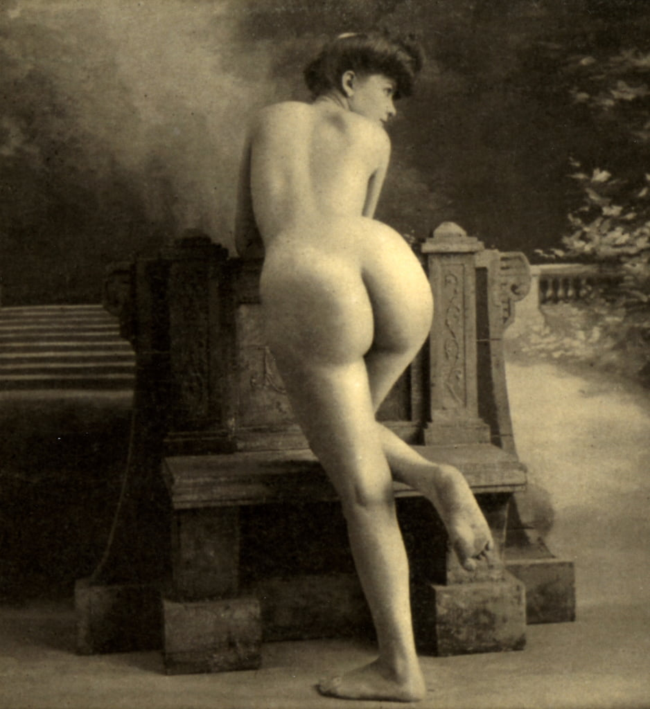Female Nude, c.1900 (sepia photo) by Unknown