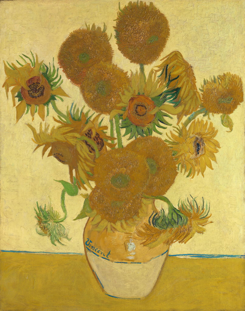 Sunflowers, 1888  by Vincent van Gogh