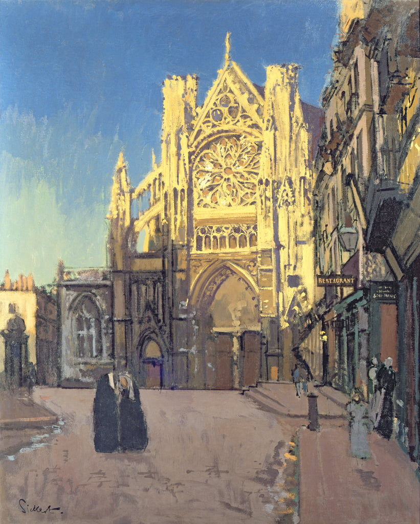 St. Jacques, Dieppe  by Walter Richard Sickert