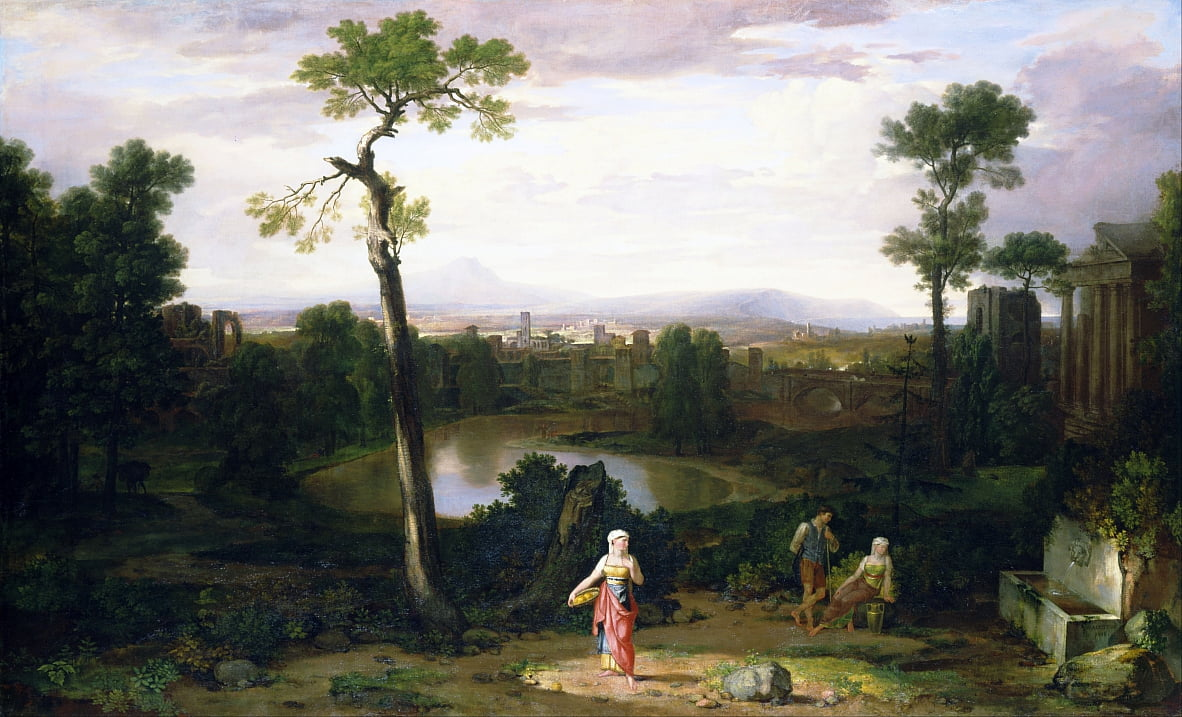 Italian Landscape by Washington Allston