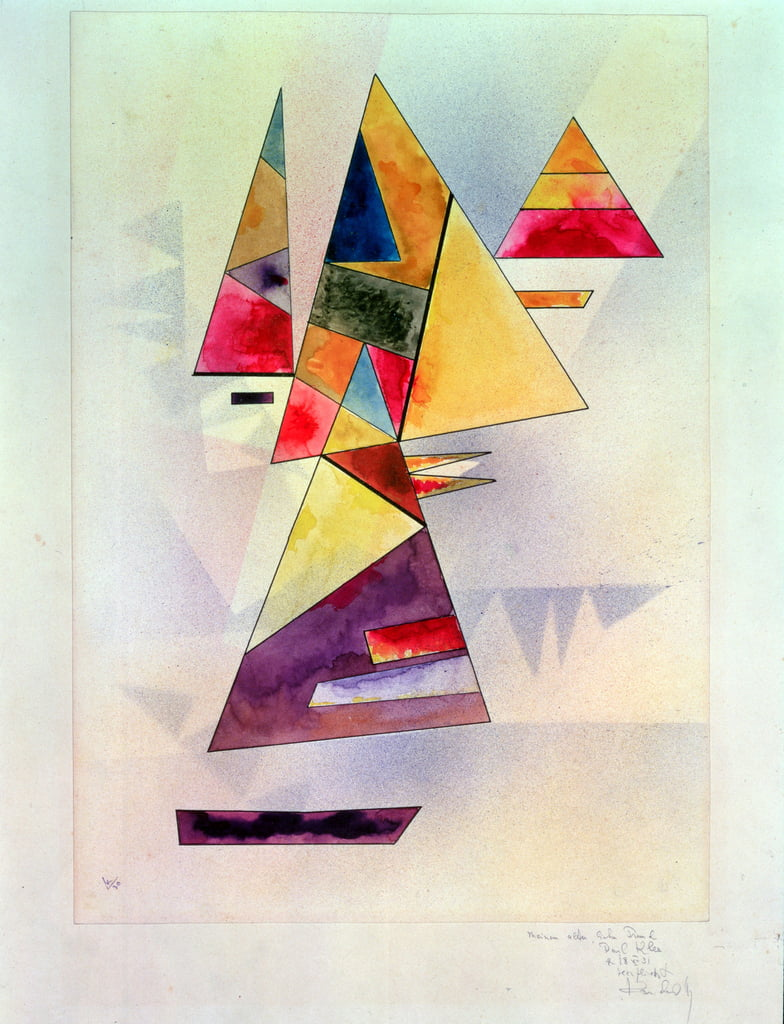 Composition, 1930 (wc and indian ink) by Wassily Kandinsky