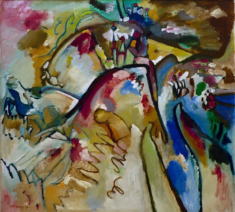 Improvisation 21a by Wassily Kandinsky