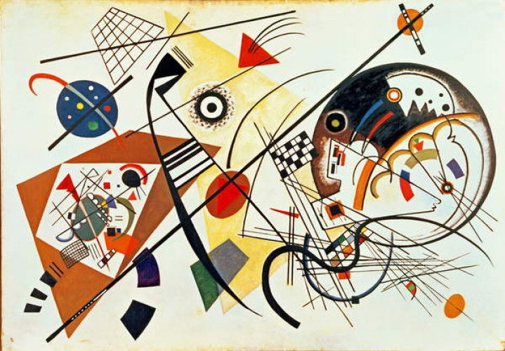Intersecting Lines, 1923 by Wassily Kandinsky (#557692)