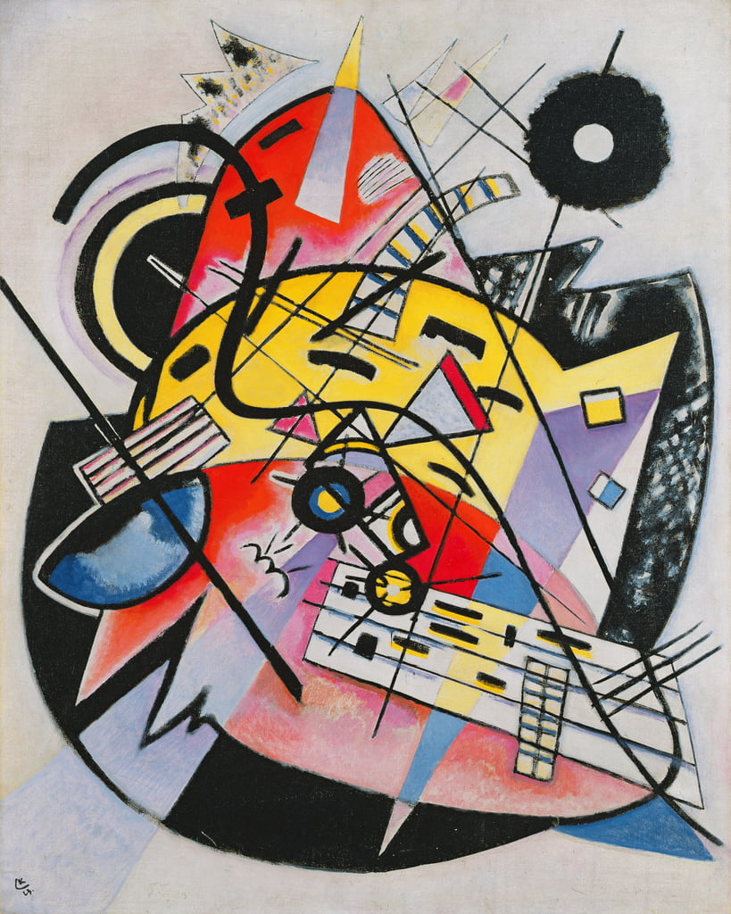 White Point by Wassily Kandinsky