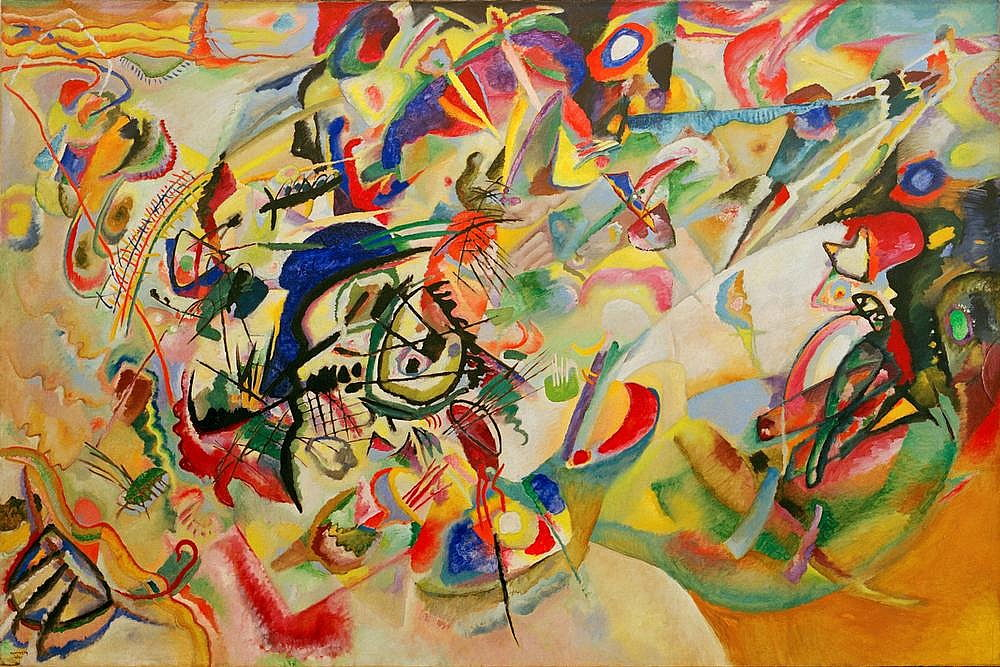 Komposition VII by Wassily Kandinsky