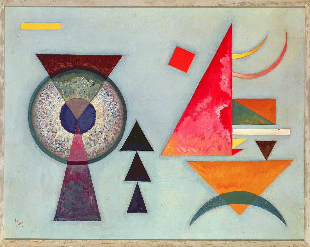 Soft Hard by Wassily Kandinsky