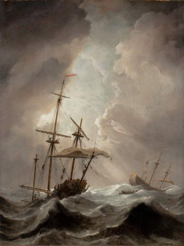 Storm at Sea  by Willem van de Velde