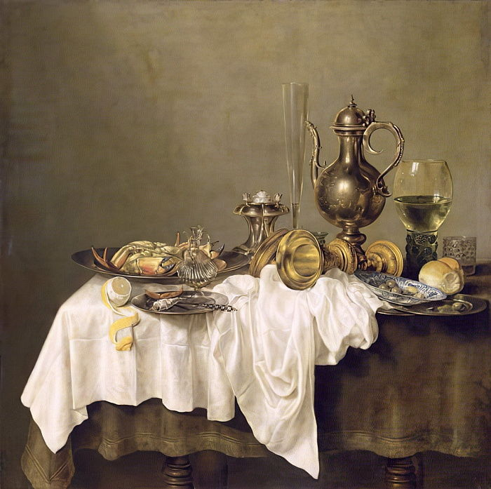 Breakfast with a Crab, 1648  by Willem Claesz. Heda