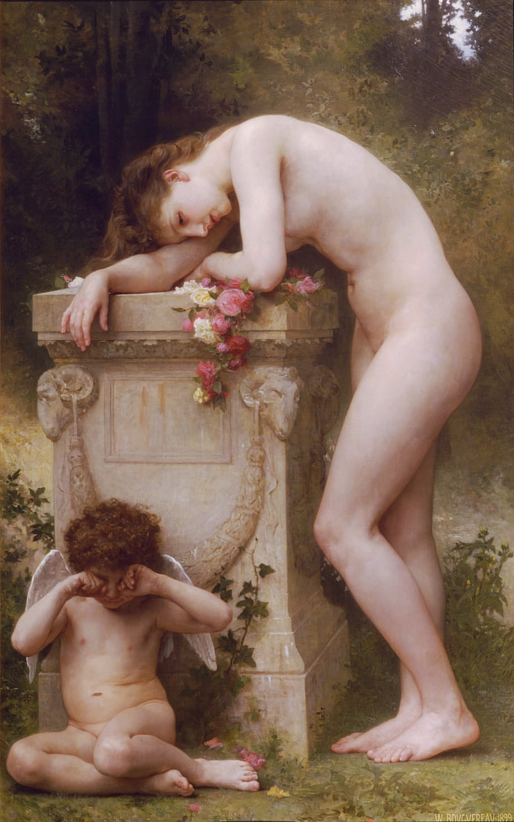 Elegy by William Adolphe Bouguereau