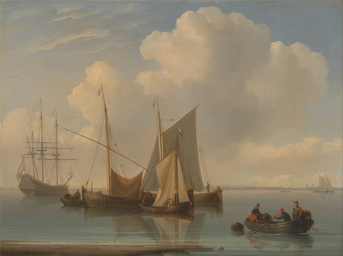 Dutch Sailing Vessels by William Anderson