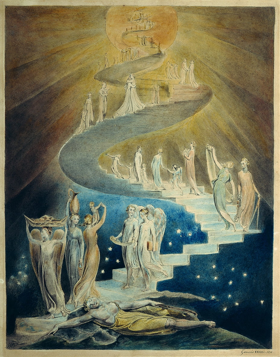 Jacobs Dream  by William Blake