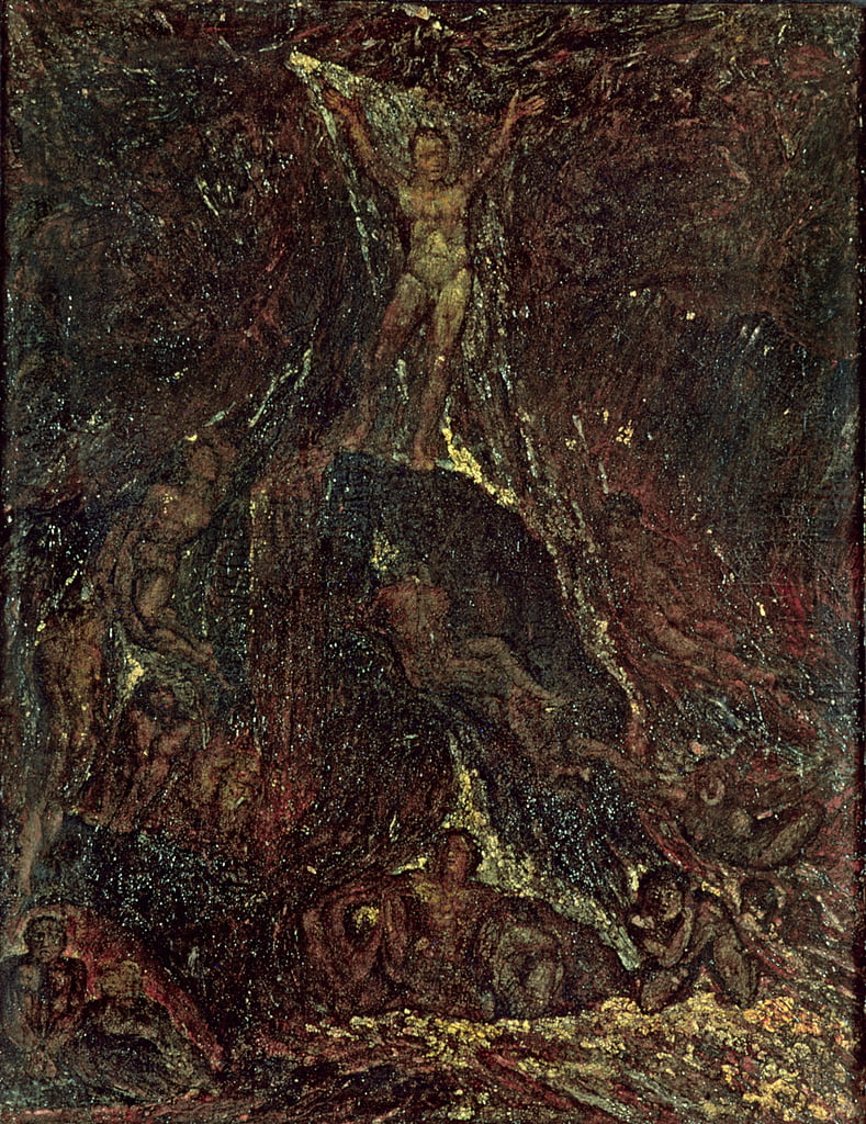Satan Calling up his Legions by William Blake