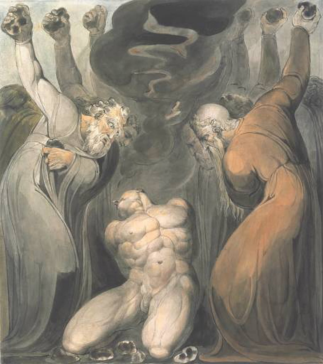The Blasphemer by William Blake
