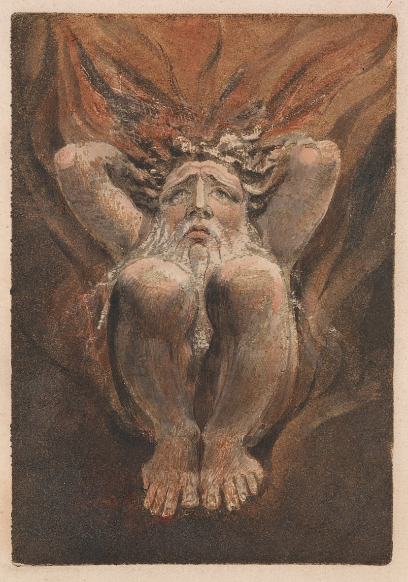 The First Book of Urizen, Plate 21 (Bentley 16) by William Blake