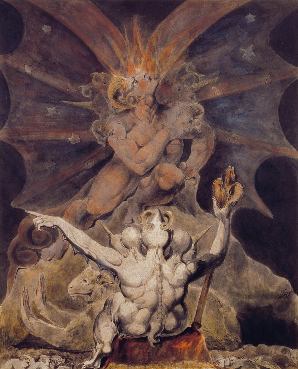 The Number of the Beast is 666 by William Blake