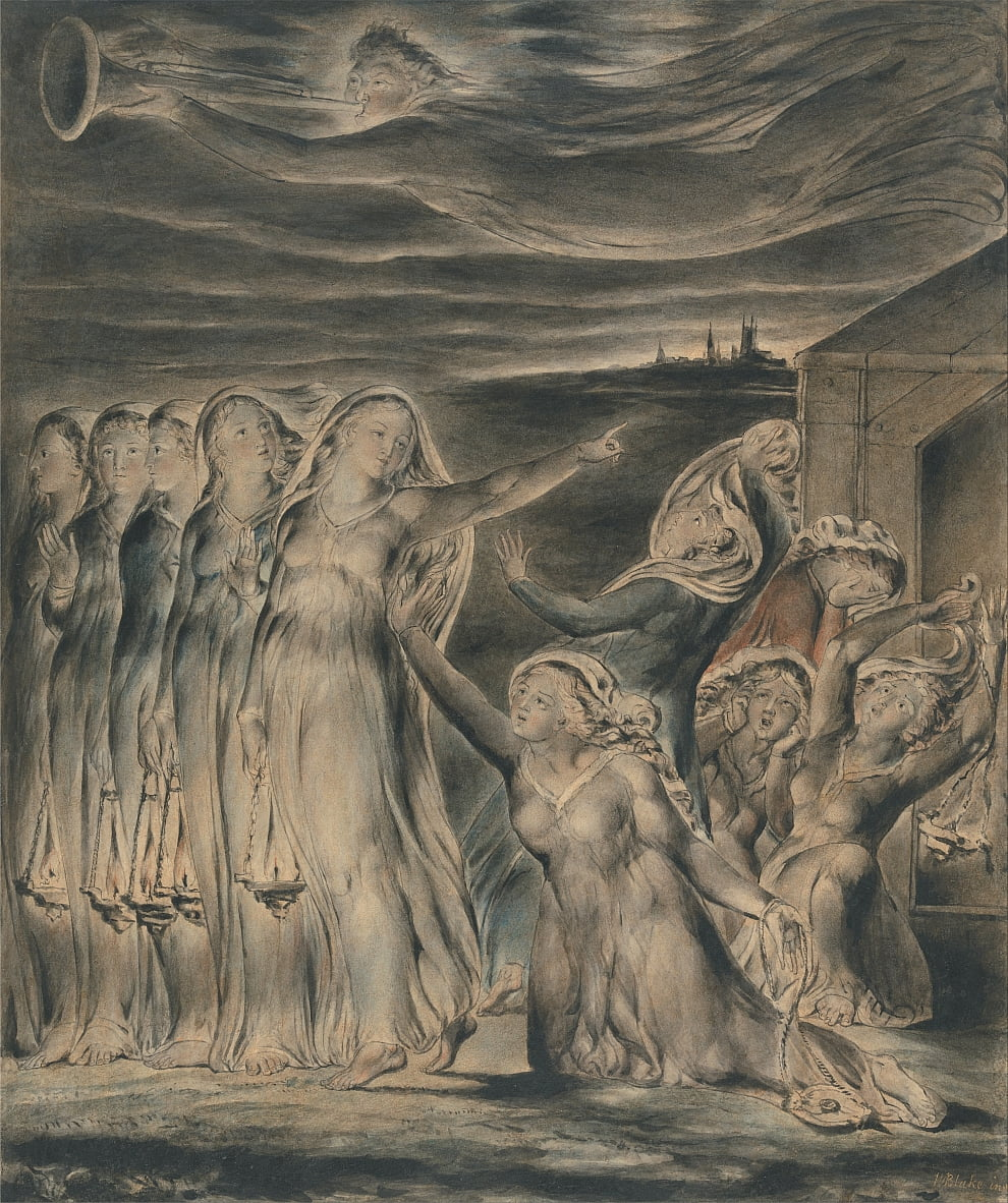 The Parable of the Wise and Foolish Virgins by William Blake