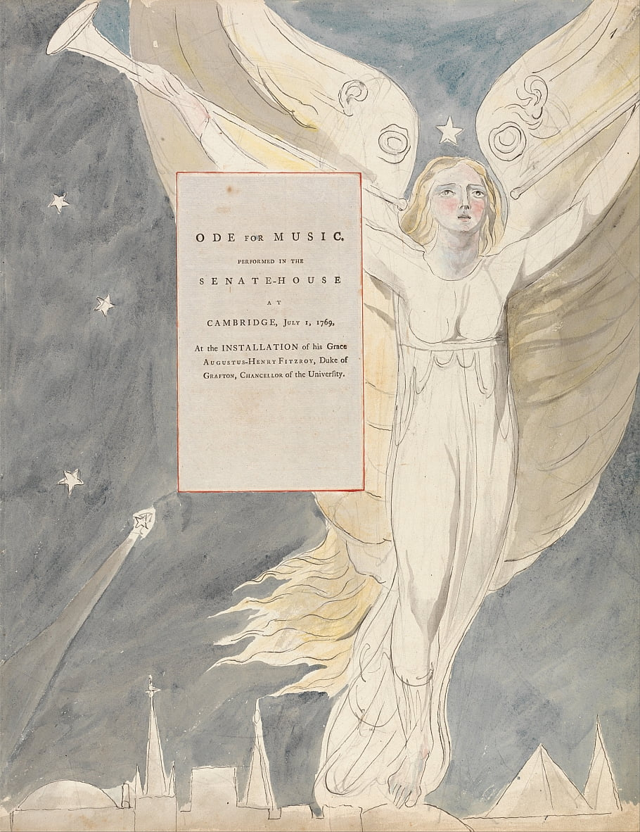 The Poems of Thomas Gray, Design 93,  by William Blake