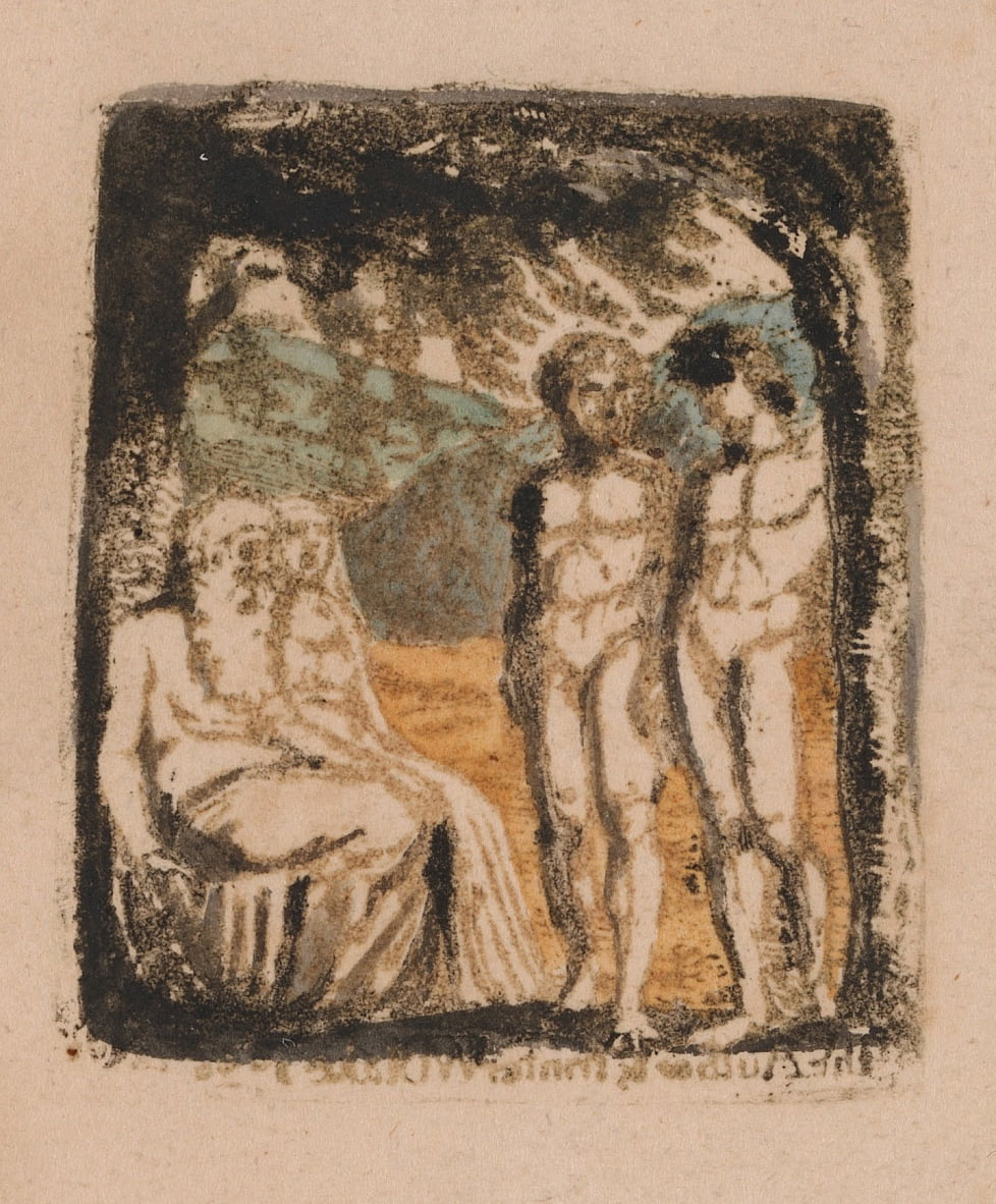 There Is No Natural Religion, Plate 1, Frontispiece (Bentley a1) by William Blake