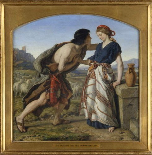 The Meeting of Jacob and Rachel, 1853  (see 141377) by William Dyce