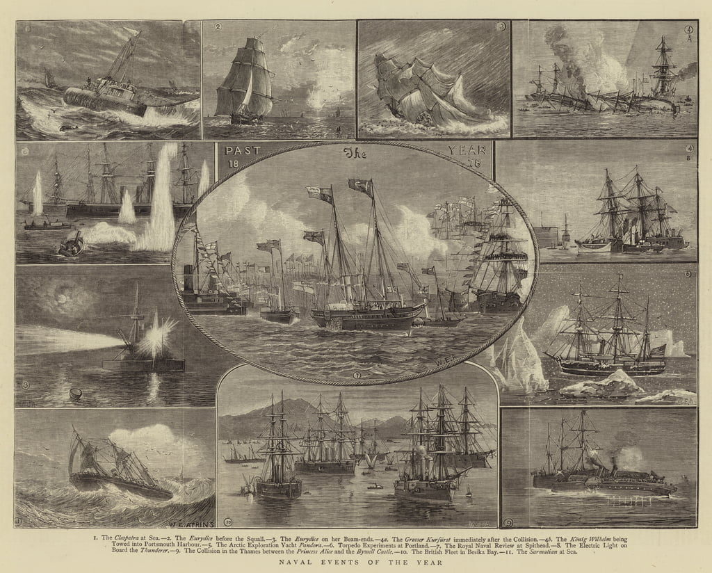 Naval Events of the Year  by William Edward Atkins