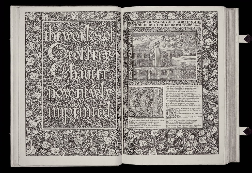 Title page and frontispiece from