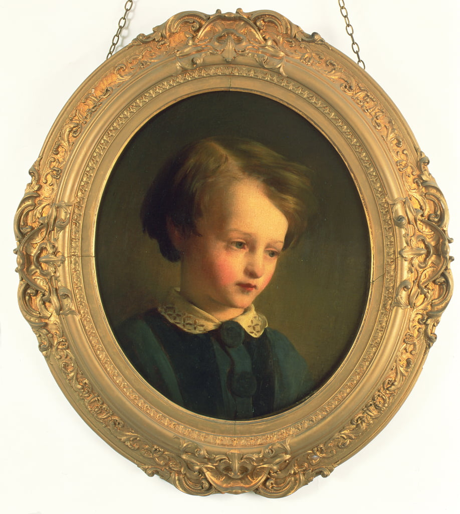Painting of a boy, Dickens
