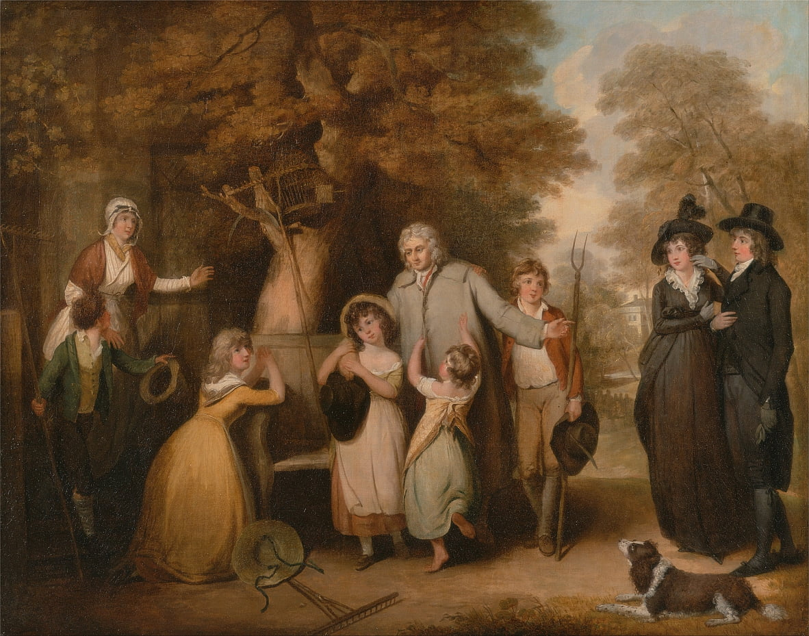 The Benevolent Heir or the Tenant Restored to his Family by William Redmore Bigg