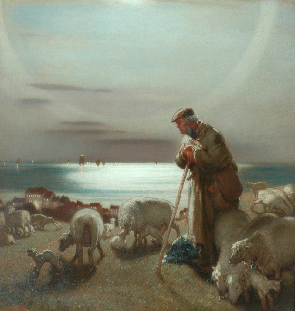 The Shepherd  by William Shackleton