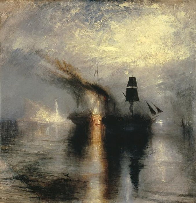 Peace – Burial at Sea by Joseph Mallord William Turner