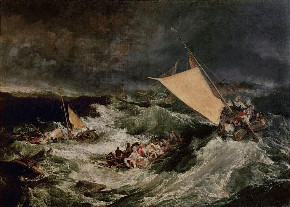 The Shipwreck by Joseph Mallord William Turner