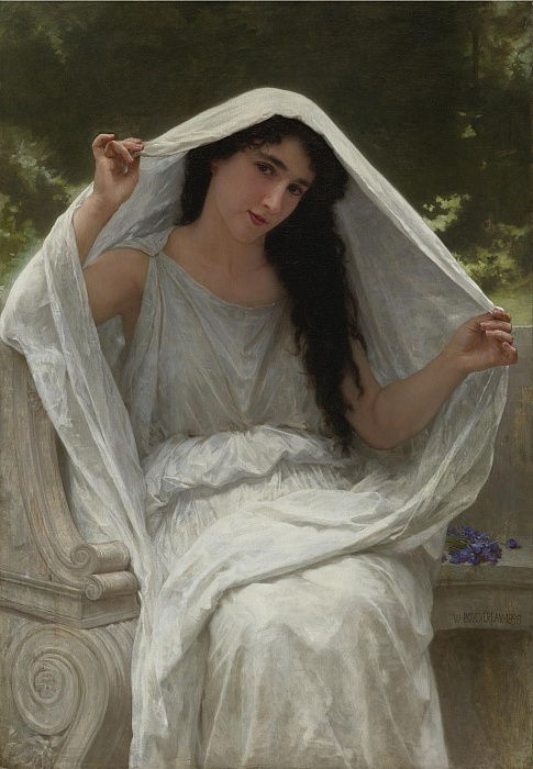Veil by William Adolphe Bouguereau