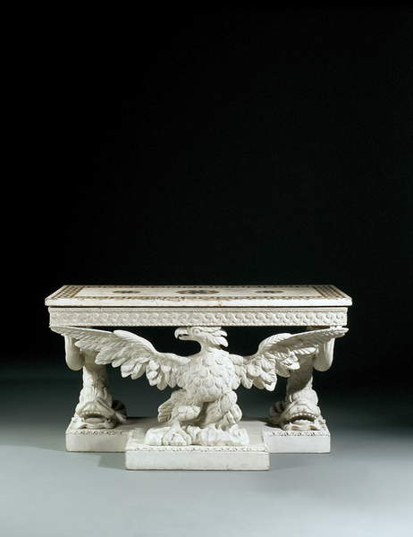 One of a pair of George II side tables by William Kent