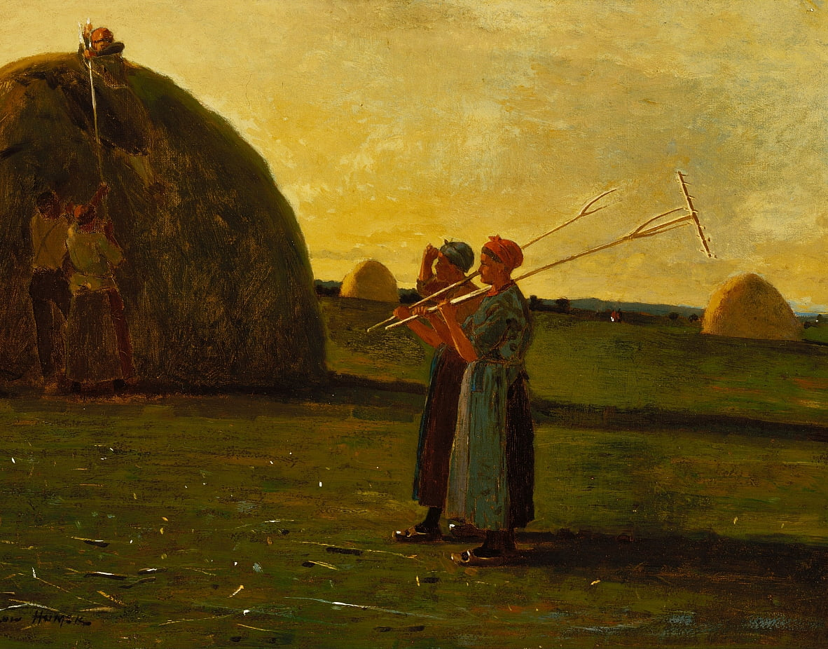 Haymakers by Winslow Homer